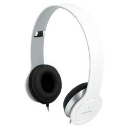 LogiLink Headset High Quality, faltbar, weiß
