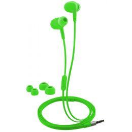 LogiLink In-Ear Headset, wassergeschützt, neongrün