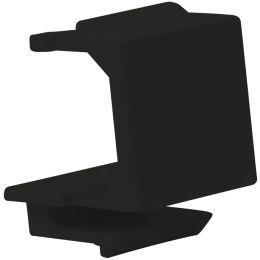 LogiLink Keystone Modul Abdeckung, schwarz, Inhalt: 10 Stück