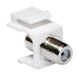 LogiLink Keystone Modul F-Kupplung, weiß