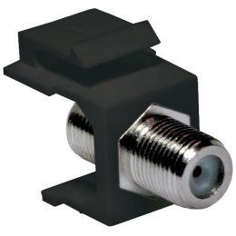 LogiLink Keystone Modul F-Kupplung, schwarz