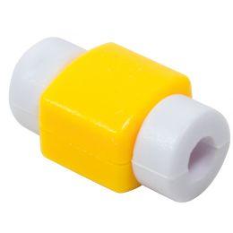 LogiLink Knickschutz für USB Kabel, aus Silikon, gelb