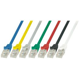 LogiLink Patchkabel EconLine, Kat. 6, U/UTP, 0,25 m, blau