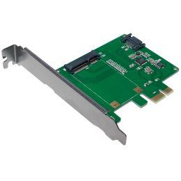 LogiLink PCI-Express Karte, 1 x mSATA SSD + 1 x SATA HDD