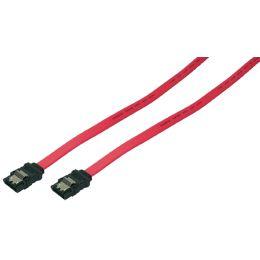 LogiLink Serial ATA Anschlusskabel, 0,30 m, rot