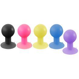 LogiLink Smartphone-Ständer iStand mit Saugnapf, violett