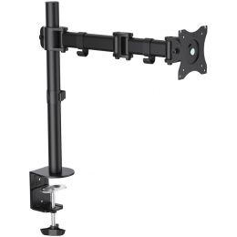 LogiLink TFT-/LCD-Monitorarm, Armlänge: 428 mm, schwarz