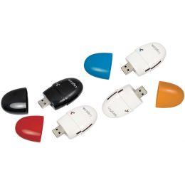 LogiLink USB 2.0 Multi Card Reader Smile, schwarz