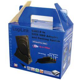 LogiLink USB 3.0 - SATA Adapter mit Verlängerungskabel