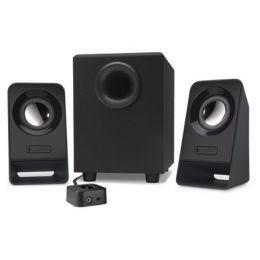 Logitech 2.1 Lautsprecher System Z213, schwarz