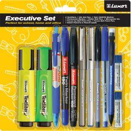 Luxor Schreibgeräte-Set Executive Home & Office, 12-teilig