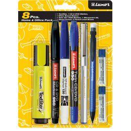 Luxor Schreibgeräte-Set Home & Office Pack, 8-teilig