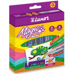 Luxor Zauberstifte Magic Marker, 8er Etui