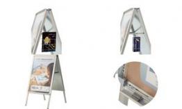 magnetoplan Ersatzfolie-Set für Plakatständer SP A1