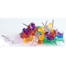 magnetoplan Pinnwand-Nadeln, farbig, Inhalt: 50 Stück