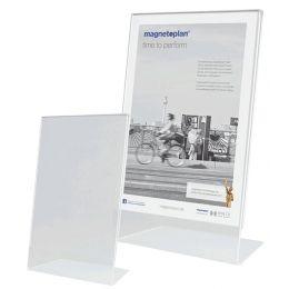 magnetoplan Tischaufsteller, Acryl, DIN A5 hoch, schräg