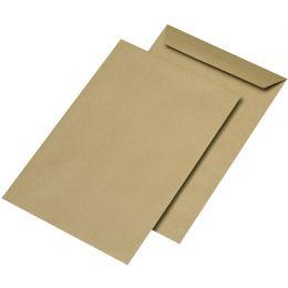 MAILmedia Versandtaschen C4 naßklebend, ohne Fenster, braun