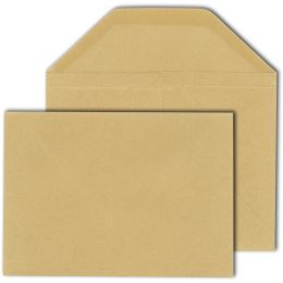 MAILmedia Wertbriefhülle, DIN B6, 125 x 176 mm, braun