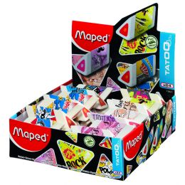 Maped Kunststoff-Radierer Pyramide, 24er Display