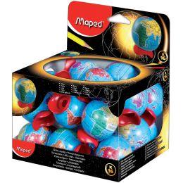 Maped Spitzdose Globus, 16er Display