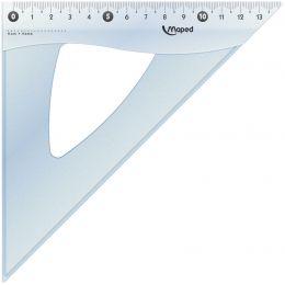 Maped Zeichendreieck Cristal 45 Grad, Hypotenuse: 210 mm