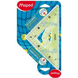 Maped Zeichendreieck Flex 60 Grad, Kathetenlänge: 210 mm
