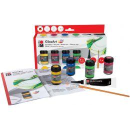 Marabu Glasfarbe GlasArt, Starter Set