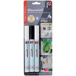 Marabu Glasmarker Glas Painter DESIGN, 3er Blister