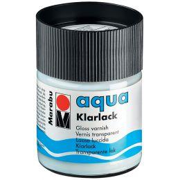 Marabu Klarlack Aqua, hochglänzend, 50 ml, im Glas