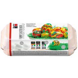 Marabu Marmorierfarben-Set FUNNY EASTER BOX