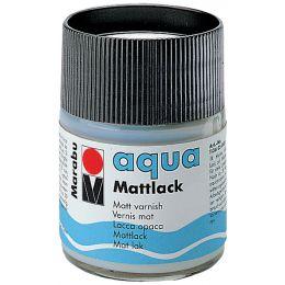 Marabu Mattlack Aqua, matt, 50 ml, im Glas