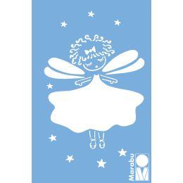 Marabu Motivschablone Fairy, 100 x 150 mm