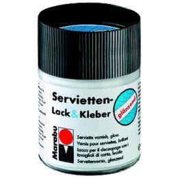 Marabu Servietten-Lack & Kleber, glänzend, 50 ml, im Glas