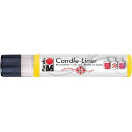 Marabu Wachsmalfarbe Candle Liner, glitter-gold, 25 ml