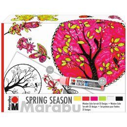 Marabu Window Color SPRING SEASON, 6er Set
