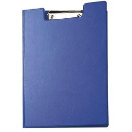 MAUL Klemmbrett-Mappe mit Folienüberzug, DIN A4, blau,