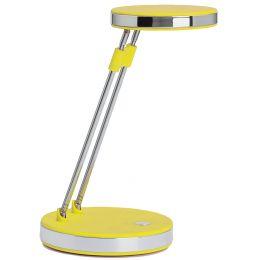 MAUL LED-Tischleuchte MAULpuck, Standfuß, gelb