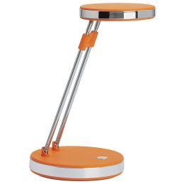 MAUL LED-Tischleuchte MAULpuck, Standfuß, orange