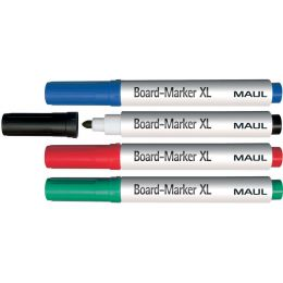 MAUL Whiteboard-Marker, sortiert, 4er-Set, Größe: XL