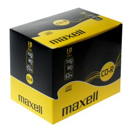 maxell CD-R 80 Minuten, 700 MB, 52x, Jewel Case