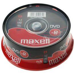 maxell DVD-R 120 Minuten, 4,7 GB, 16x, 25er Spindel