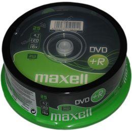 maxell DVD+R 120 Minuten, 4,7 GB, 16x, 25er Spindel