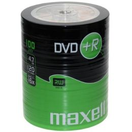 maxell DVD+R, 120 Minuten, 4.7 GB, 16x, 25er Shrink