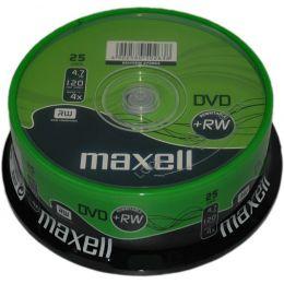 maxell DVD+RW, 120 Minuten, 4.7 GB, 4x, 10er Spindel