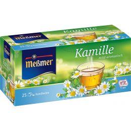 Meßmer Tee Kamille, mild-aromatisch, 25er Packung