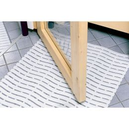 miltex Arbeitsplatzmatte Yoga Soft Step, 600 x 900 mm, grau
