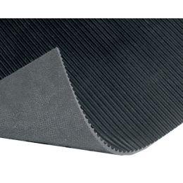 miltex Feinriefenmatte, (B)1.200 mm, schwarz