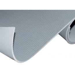 miltex Isoliermatte gerieft, (B)1.000 mm, grau