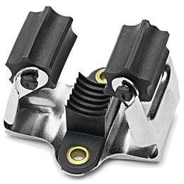Nölle Besen- und Gerätehalter, Metall, zum Anschrauben