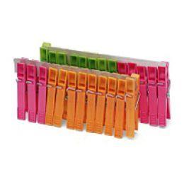Nölle Wäscheklammern, aus Kunststoff, Länge: 70 mm